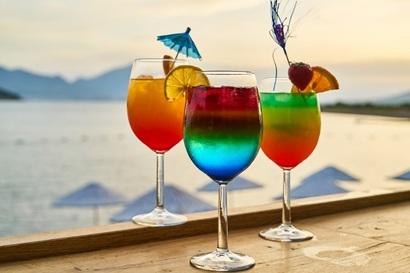Kick back in a cool beach bar